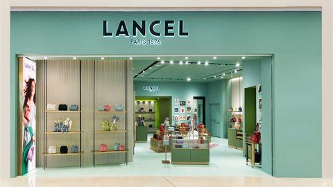 lancel,包袋,水桶包,精品店,万象城,法式,优雅,经典,复古