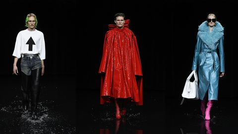 Clothing, Fashion, Fashion model, Outerwear, Costume design, Fashion design, Performance, Runway, Performing arts, Costume,