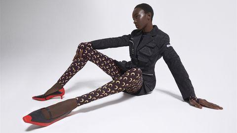mytheresa,marine serre,胶囊系列,巴黎,美学元素,连体裤,紧身衣,针织品