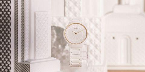 White, Room, Architecture, Door, Interior design, Clock, Molding, Furniture,