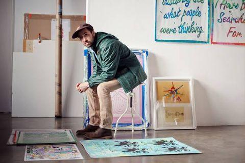 Floor, Flooring, Room, Visual arts, Balance, Art,