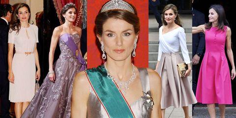 西班牙王后,莱蒂齐亚,王室穿搭