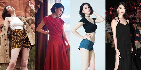 Fashion model, Clothing, Shoulder, Dress, Fashion, Fashion design, Cocktail dress, Neck, Model, Leg,