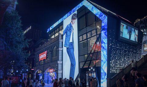 Blue, Night, Sky, Light, Architecture, Metropolitan area, Urban area, Lighting, Building, City,
