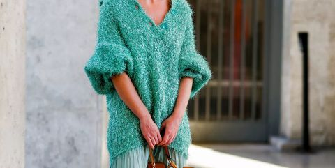 Street fashion, Clothing, Green, Turquoise, Fashion, Orange, Footwear, Waist, Textile, Outerwear,