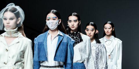 Eyewear, Vision care, Sleeve, Denim, Fashion, Street fashion, Fashion model, Fashion design, Drama, Costume design,